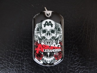 Жетон Asking Alexandria (kul-104)