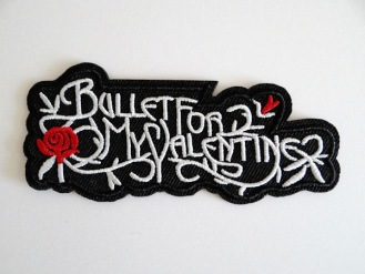 Нашивка Bullet for My Valentine (nas-36)
